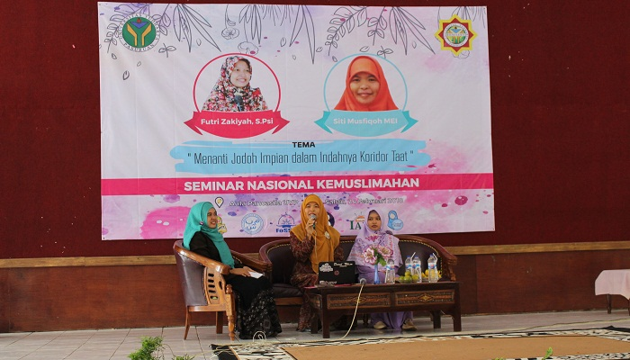 SRIKANDI Ekonomi Syariah menggelar Seminar Nasional Menanti Jodoh Impian Dalam Indahnya Koridor Taat